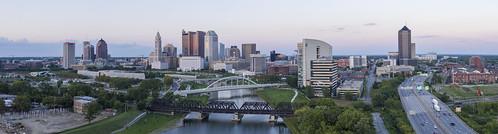 cityscape columbus panorama