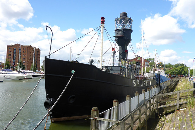 Light ship Spurn at Hull