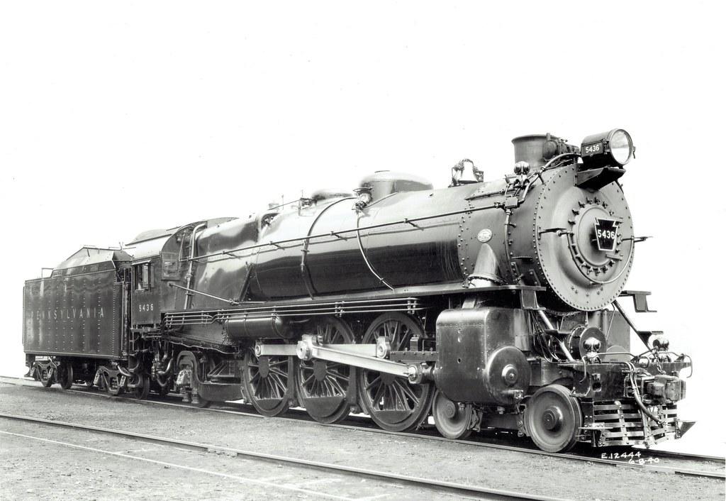 Image - PRR K4s streamlined engine | Locomotive Wiki