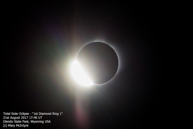 Total Solar Eclipse - 2nd Diamond Ring (2) 21/08/17