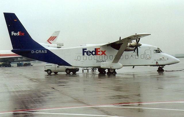 D-CRAS Shorts 360 Fedex (Schiphol 4-2000)