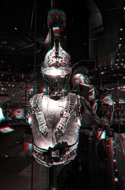 Soest NL - National Military Museum - Arsenal Cuirassier Anaglyph 3d