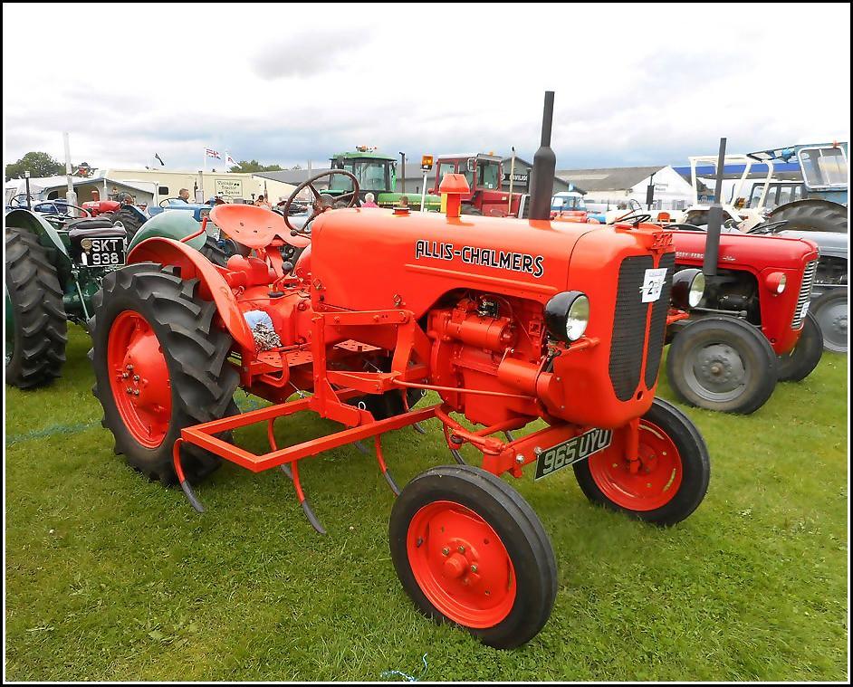 Allis Chambers Tractor ..