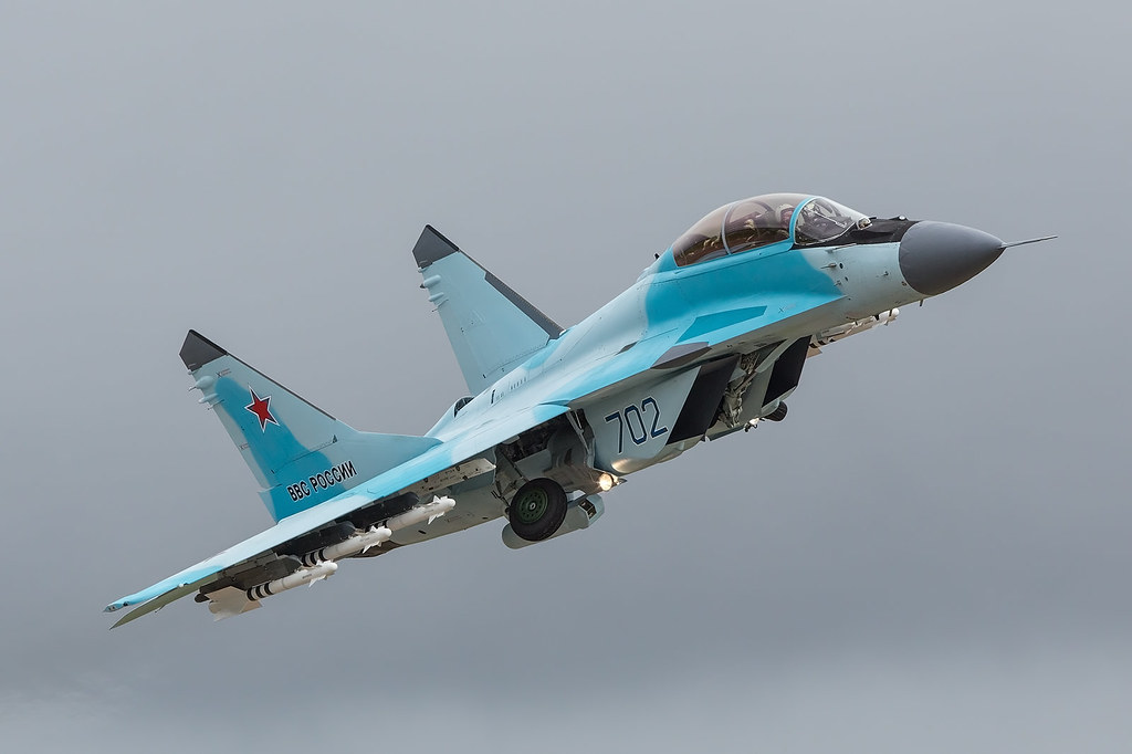 702, Mikoyan/Gurewitsch MiG-35 Russian Air Force @ Kubinka UUMB