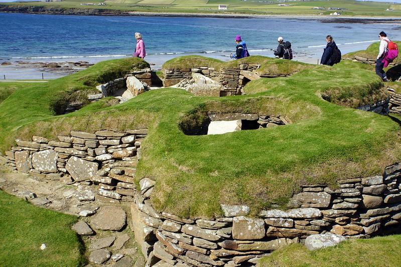 Skara Brae   Orkney Islands  (07o)