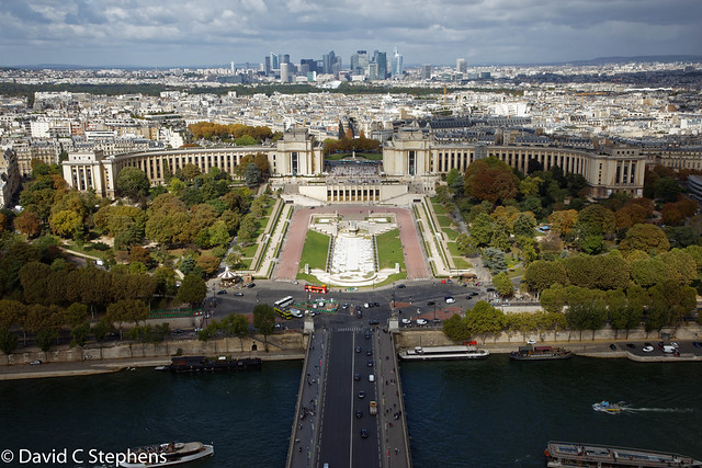 A View From Eiffel Tower