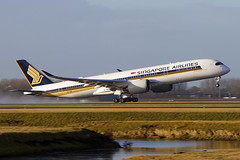 9V-SMH, Airbus A350-941, Singapore Airlines