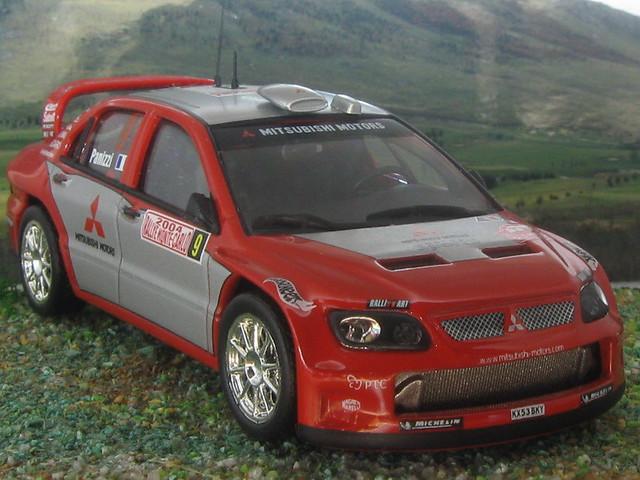 Mitsubishi Lancer WRC - Montecarlo 2004