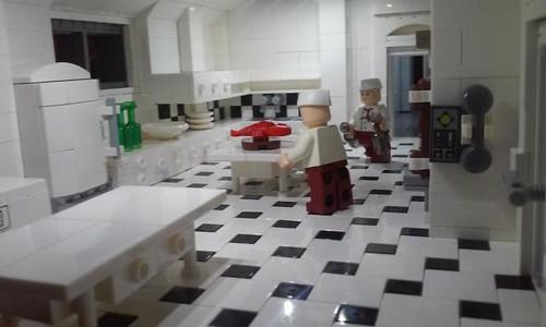 Wayne Manor - Basement - Kitchen