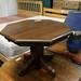 Octagon table oak E40