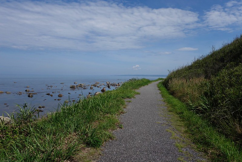 sea side road