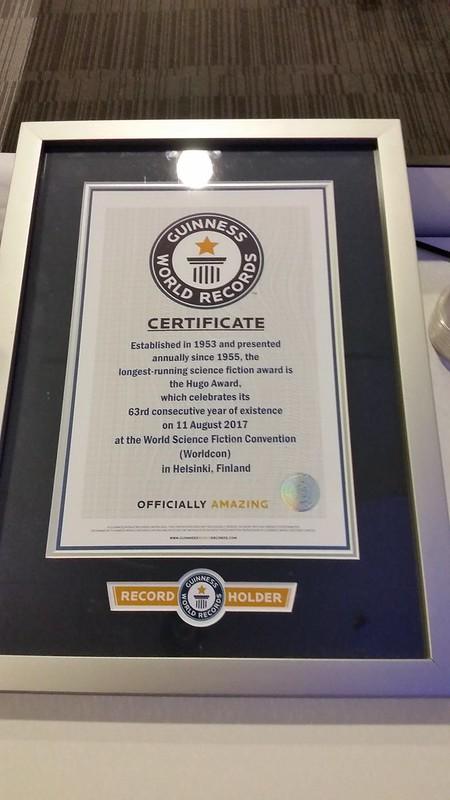 Hugo Award Record