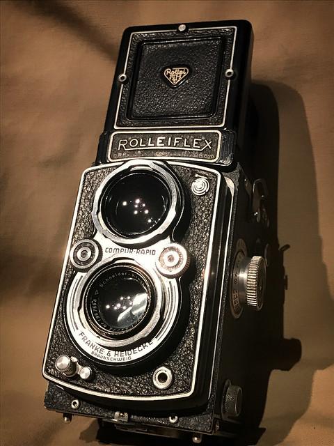 Rolleiflex Xenar 75mm 3.5