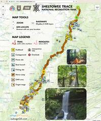 Sheltowee Trace map
