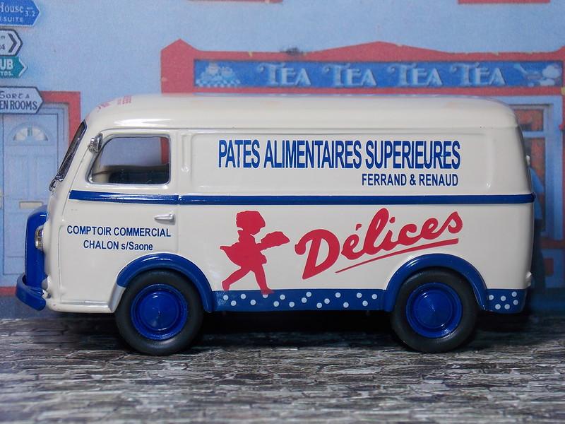 Peugeot D3A - Pates Delices - 1955