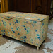 Old retro top open blanket box E30