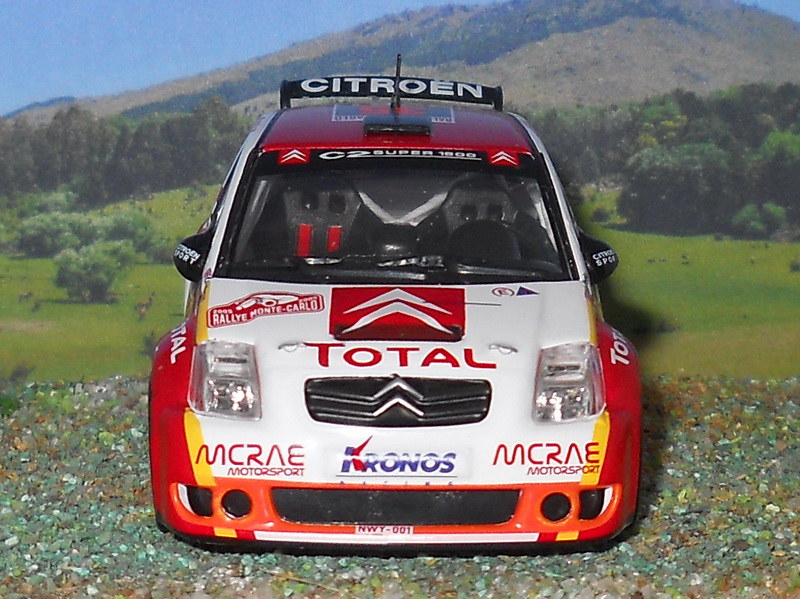 Citroën C2 S1600 – Montecarlo 2005