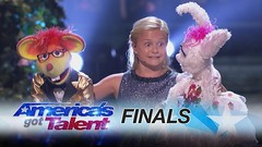 Darci Lynne: Kid Ventriloquist Sings With A Little Help From Her Friends - America's Got Talent 2017