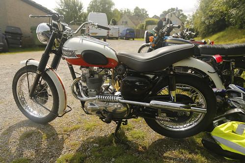Triumph TR6 Trophy Motorbike