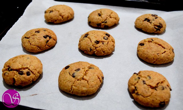 Honey Wheat Chocolate Chip Cookies