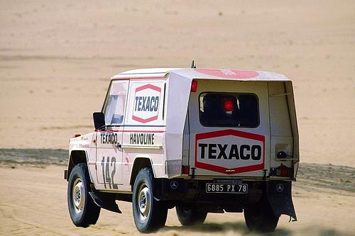 Mercedes Benz 280 GE – Dakar 1983
