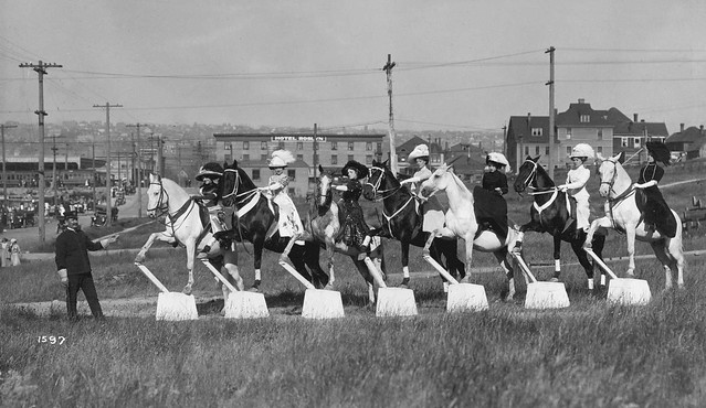 1919 Equestrian Display