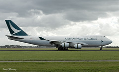 Cathay Pacific Cargo 747-400F B-LIE