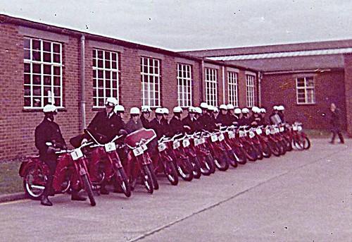 GPO Regional safe riding comp 1970 Flowers Hill Bristol