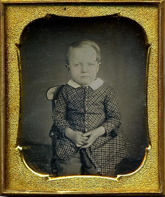 Adorable, 1/6th-Plate Daguerreotype, Circa 1850