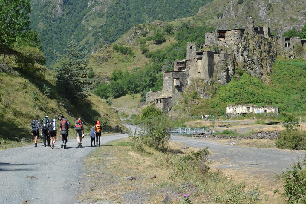 отбранителна стена в Кавказ