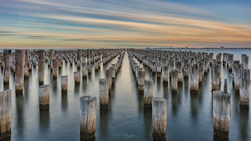 portmelbourne princesspier sunset longexposure water sony a7r2 zeiss loxia loxia2821 mt smoothreflectionsapp