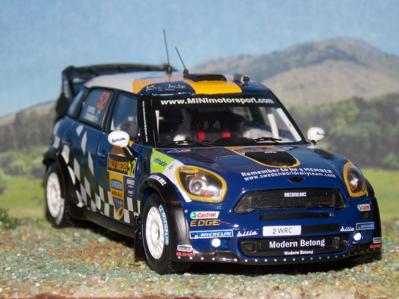 Mini John Cooper Works WRC – Suecia 2012