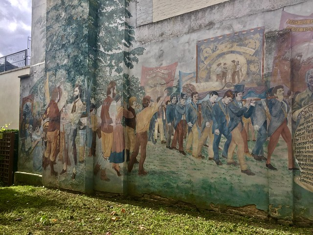 Tolpuddle Martyrs mural