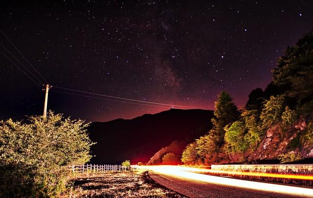 Laceno Lake (Av) - Milky way