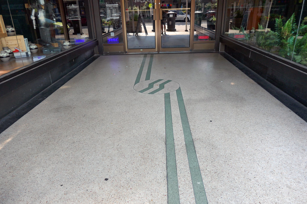 Geometric Pattern Terrazzo Storefront Guelph Ontario Flickr