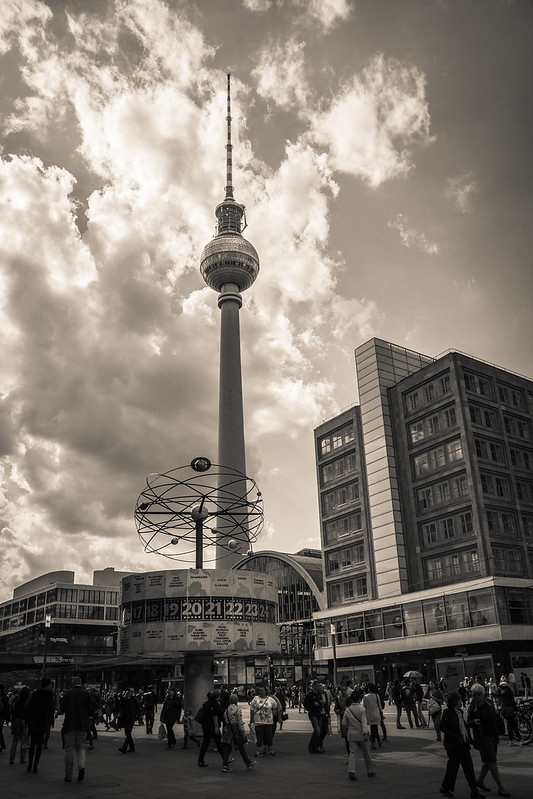 Berlin Fernsehturm BW