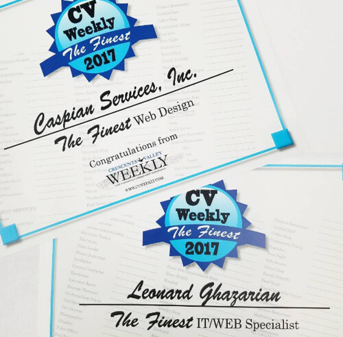 CV Weekly FInest WebDesigner & IT Specialist | by caspianservices