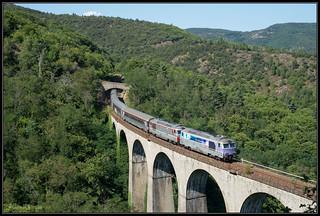 14-08-2017, Ponteils-et-Brésis, SNCF 67616 + 67574 + Corail | by Koen vd Lee