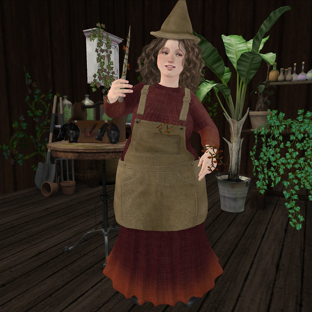 Autumn Is Coming Helga S Wand And Herbology Teacher Outfit Flickr