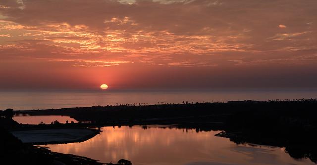 Batiquitos Sunset