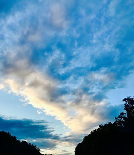maryland blue clouds sky dawn sunrise