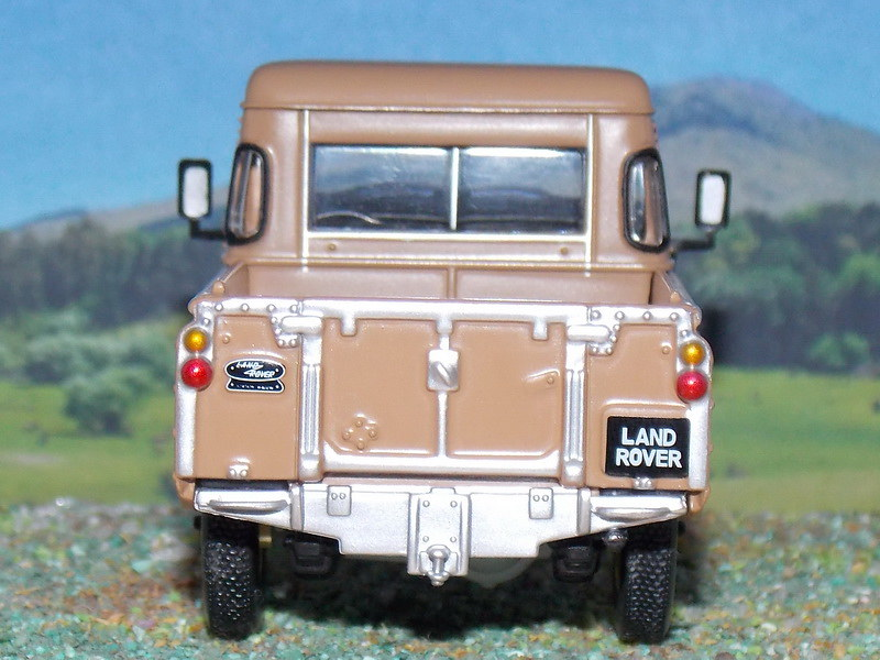 Land Rover Serie III 88 – PickUp – 1971