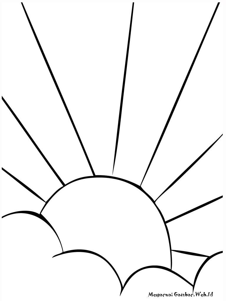 Gambar Matahari Terbit Kartun