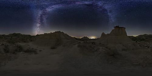 VR Monegros i via làctia 360º