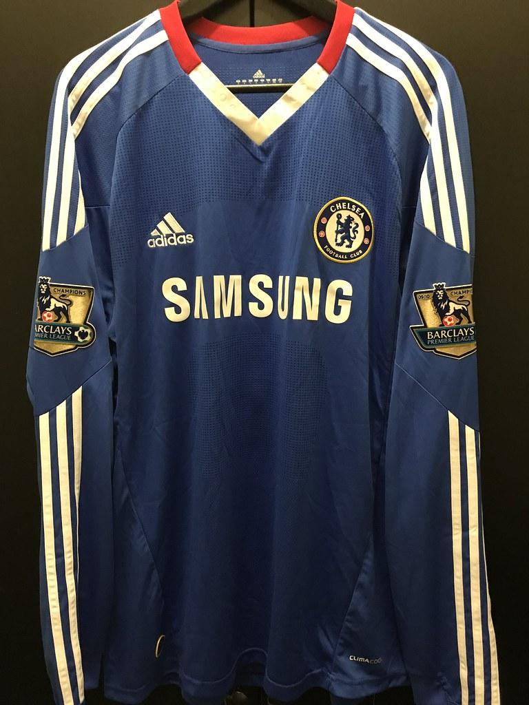 24295fc61f7 10/11 #Chelsea home long-sleeve PL #9 Torres | Siu Louis | Flickr