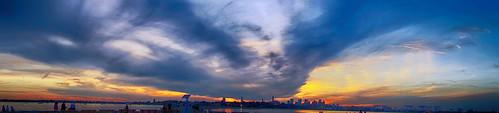 brooksbos boston bostonma brooks cybershot dscrx100m2 evening geotagged hdr landscape massachusetts newengland rx100m2 rx100 reflection sony sky skyline water sunset