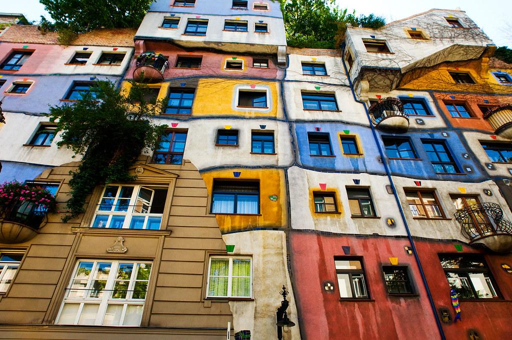 Vienna - Hundertwasserhaus | Hundertwasserhaus (in italiano … | Flickr