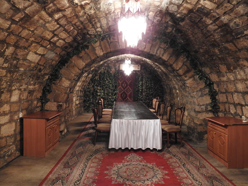 Dining hall of serai restaurant
