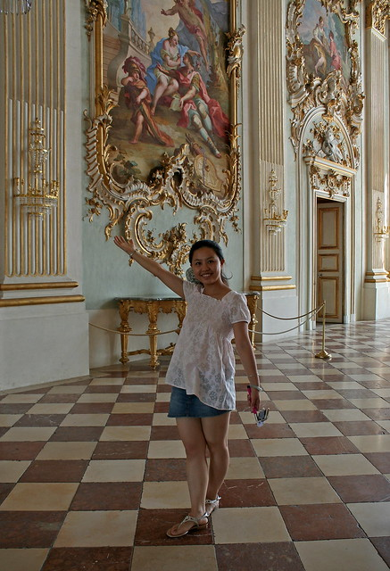 Xixi im Schloss Nymphenburg