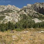 Mountains along Paintbrush Canyon